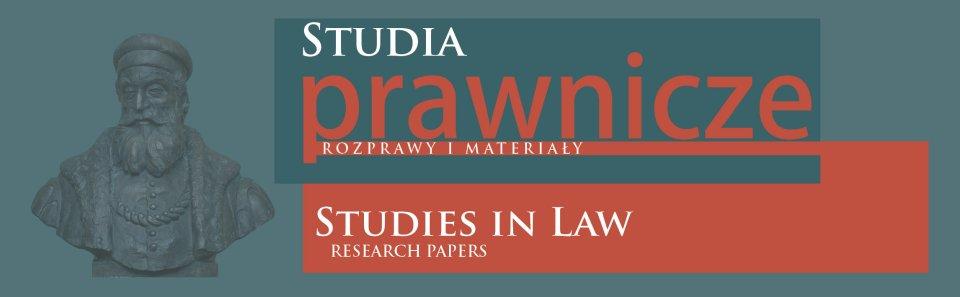 Studia Prawnicze. Rozprawy i Materiały